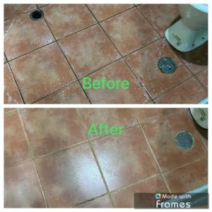 Tiles and Grout Refresh