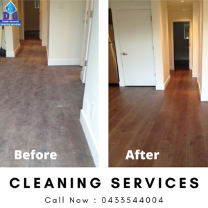 Wood Flooring Deep Clean