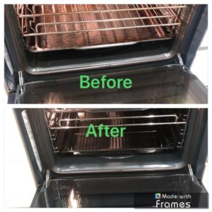 Oven Tray and Glass CLean
